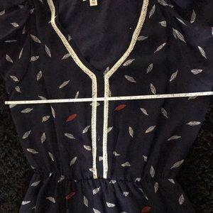Maison Jules Dresses - Women's Madison Jules feather dress size xs
